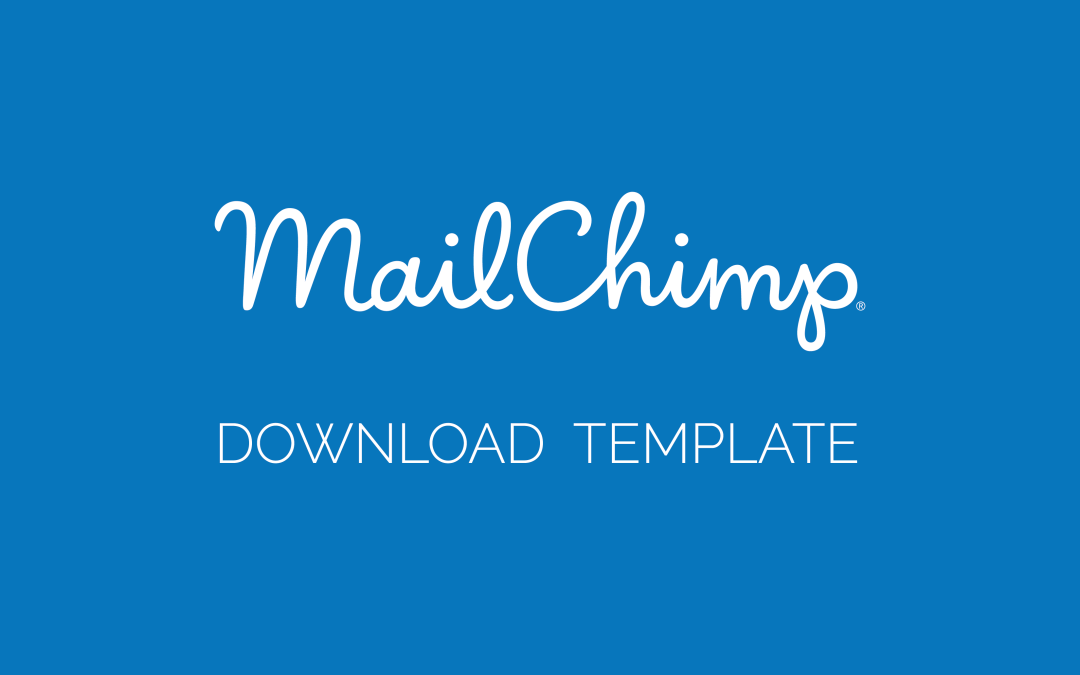 Mailchimp Email Template Design [Download]